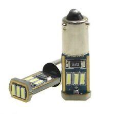 2x Ampoule BAX9S LED H6W Canbus 6000K Veilleuse Blanc Xenon Feux de position 12V