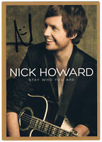 Nick Howard - - original signierte Autogrammkarte - - hand signed