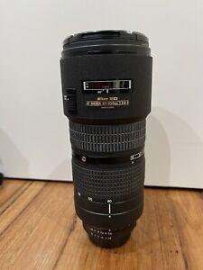 Nikon Zoom-Nikkor 80-200mm f/2.8 AF ED Lens