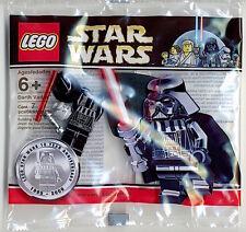 LEGO Star Wars 10 Year Anniversary Promotional Minifig - ChromeBlack Darth Vader
