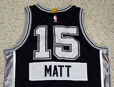 Matt Bonner - 2014 NBA Christmas Day Game Used Jersey - San Antonio Spurs #15