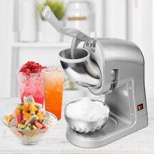Ice Shaver Machine Snow Cone Maker Shaved Ice 660 Lbs Electric Crusher 350w