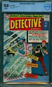 DETECTIVE COMICS #346 CBCS 9.8 MINT SINGLE HIGHEST DC 1965 BATMAN CGC LS = $1380