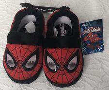 NEW Marvel Comics Spider-Man Toddler Boys Slippers Size S 5/6