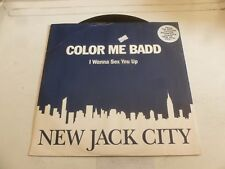 "COLOR ME BADD - I Wanna Sex You Up - 1991 UK 4-track 12"" vinyl single"