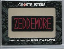 Cryptozoic Ghostbusters 2016 Replica Patch H4 Zeddemore