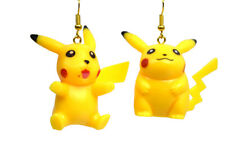 Pokémon Pikachu 3D Body Dangle Girl Woman Earrings Superheroes Jewelry  POK-E1