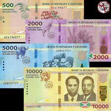 Burundi - NEW 2019 - 500,2000,5000 & 10.000 Francs 2019 - Pick-NEW  - UNC