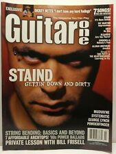 Guitar One Magazine Back Issue July 2001 Staind