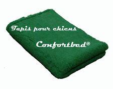 Tapis Confortbed Vetbed Eleveur vert foncé uni, épaisseur 32 mm 100x150 cm