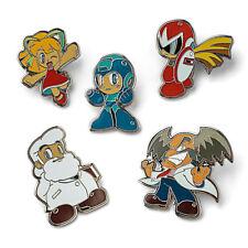 Mega Man Collectible Enamel Pin Sets - Anime Series 1