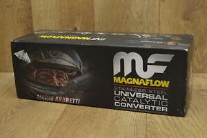 MAGNAFLOW STAINLESS STEEL UNIVERSAL CATALYIC CONVERTER 51759