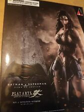 BATMAN VS SUPERMAN: WONDER WOMAN PLAY ARTS KAI FIGURE - NEW AND SEALED