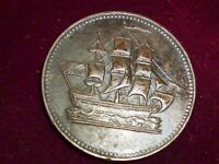 1829 CANADA, SHIPS COLONIES & COMMERCE . BRETON # 997, PE-10-29 NICKED 'E'  type