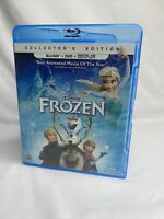 Disney's Frozen 2013 Blu-ray + DVD 2-Disc Set Collector's Edition