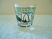 """Vintage Missouri """" The Show Me State """" Shot Glass """" BEAUTIFUL COLLECTIBLE ITEM """""""