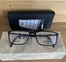 Neubau Eyeglasses Optical Frames T065/75 9000 54/16 Tom Black Coal Matte