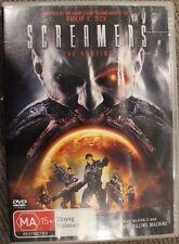 SCREAMERS: THE HUNTING OOP RARE DELETED R4 PAL DVD CULT HORROR FILM EX-RENTAL