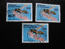 COTE D IVOIRE - timbre yvert/tellier n° 682 x3 obl (A28) stamp (Z)