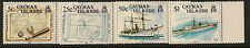 CAYMAN ISLANDS :1989 Maps and Ships  SG 691-4 unmounted mint
