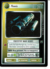 STAR TREK CCG FIRST CONTACT RARE CARD PHOENIX