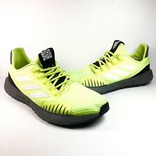 Adidas Men's Neon Yellow Pulseboost HD Running Jogging Shoes EF8906 Size 13 Mens