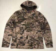 UNDER ARMOUR MEN'S 2XL COLDGEAR CAMO HUNT  HOODIE NWT