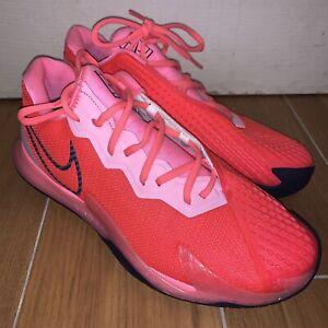 Nike Court Air Zoom Vapor Cage 4 HC Women's 11.5 Hot Pink CD0431-604