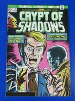 CRYPT OF SHADOWS #9 COMIC BOOK Marvel Bronze Age 1974 ~ VF