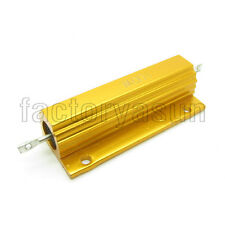 100W High Power 0.5 Ohm 0.5R Golden Aluminum Shell Case Wirewound Resistor 5%