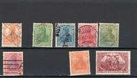 Germany stamps Deutsches Reich 1916-1920 Germania used and MHR