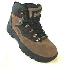 NEW Northwest Territory Hiking Boots Mens Suede Leather Size 4.5UK 5.5US Brown