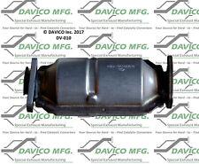 Catalytic Converter-Exact-Fit Davico Exc CA DV-010 fits 83-86 Volvo 760 2.8L-V6