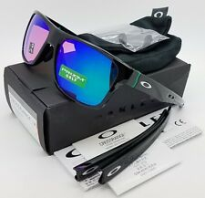 NEW Oakley Crossrange sunglasses Black Prizm Golf 9371-0357 Cross Asian Fit G30