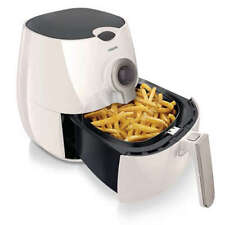 Philips Viva Collection 1425 Watt Low-Fat Multi-Cooker Airfryer - White