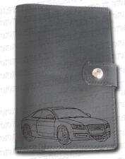 Portadocumenti auto per Audi A4 porta libretto in vera pelle