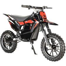 Motocross électrique quad pour enfant 24 Volts 500 watts noir dirt bike