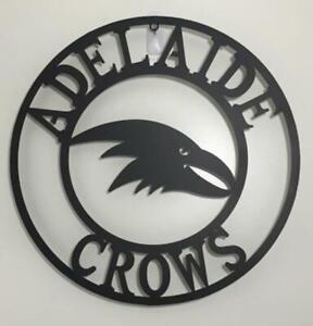 AFL Adelaide Crows  Metal Wall Art Plaque Sign Aussie Australian Football 500mm