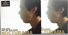 CD 10T + DVD NICK CAVE AND THE BAD SEEDS NOCTURAMA EDITION LIMITÉE 2003