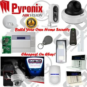 Pyronix Wireless Alarm & CCTV Full HD 2MP Wifi Self Monitoring Personalise Kit