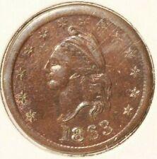 Civil War Token - F 1 / 391 a - R 1 - Liberty / I. O. U. 1 Cent - Lot # 405