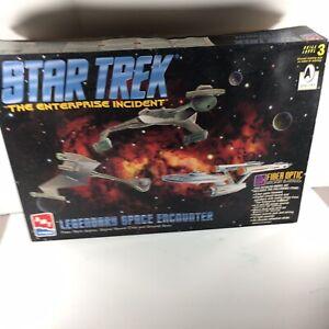 Star Trek The Enterprise Incident Legendary Space Encounter - AMT ERTL Model Kit