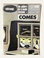COMÈS. Les Cahiers De La Bande Dessinée N° 55. Glénat 1983