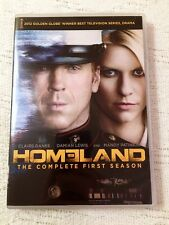 Homeland: The Complete First Season 1 ONE (DVD, 2012, 4-Disc Set) BRAND NEW