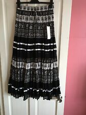 Ladies Size 10 Boho Maxi Gypsy Skirt By Roman Originals ⭐️Brand New