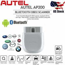AUTEL AP200 BT ELM327 OBD2 Diagnostic Scanner EPB BMS DPF ABS SRS Oil Reset Tool