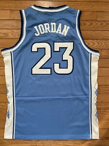 UNC North Carolina Tar Heels Nike Elite Swingman Jersey Michael Jordan Large New