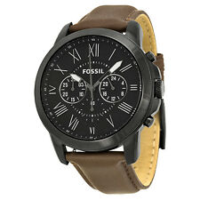 Fossil FS4885 Men's Brown Leather strap Watch