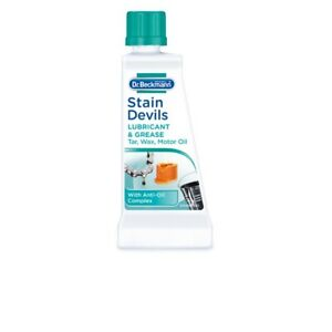 DR Beckmann Stain Devils Remover Cleaner Lubricant Grease Tar Oil Washing 50ml