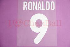 Ronaldo #9 2000-2001 Inter Milan Homekit Nameset Printing